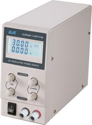 Arrivée rapide DC alimentation régulée QJ3003H 30 V 3A monocanal 0 ~ 20 V, 0 ~ 2A résolution de 10mV, 1mA