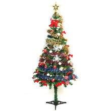 1 Set 1.5M Artificial Christmas Tree + Christmas Tree Decorations New Year Christmas Gift Ornament Decor Xmas Tree Package Set
