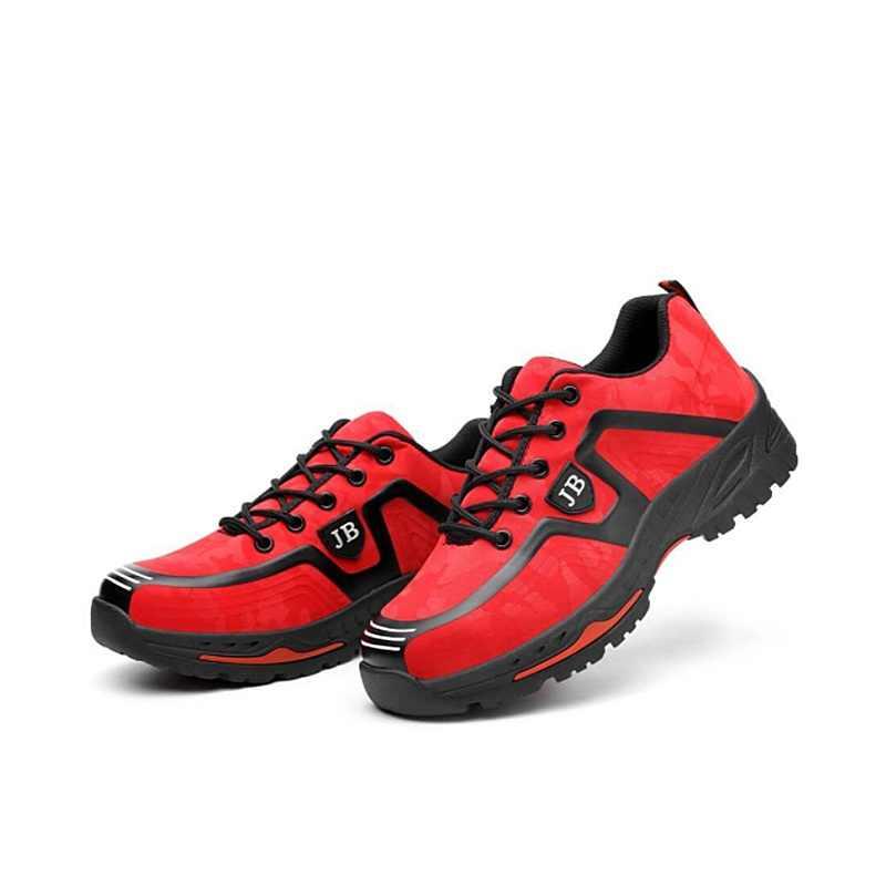 XZMDH Dropshipping ผู้ชายและผู้หญิงความปลอดภัยรองเท้ากลางแจ้งรองเท้าแฟชั่นผู้ชายกันน้ำเจาะหลักฐานพนักงานรองเท้าผ้าใบ