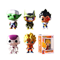 Funko Pop de Dragon Ball Z Goku Vegeta Figura de Vinilo Celular Piccolo Freezer Muñeco de Acción Super Saiyan Modelo Anime Collection Toy # DB