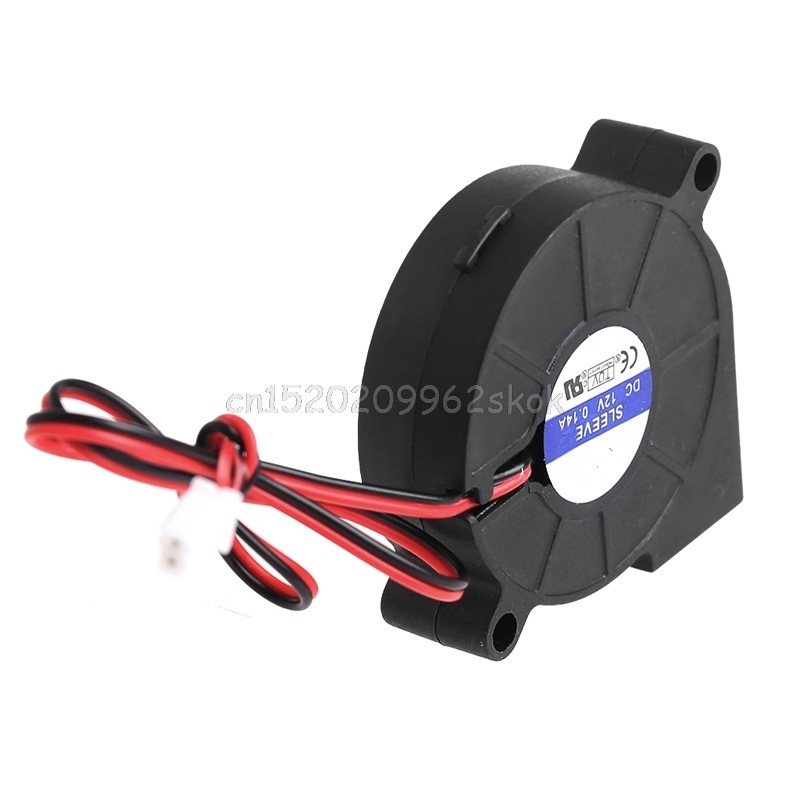 50mmx15mm DC 12V 0.14A 2-Pin Computer PC Sleeve-Bearing Blower Cooling Fan 5015 #H029# gdstime 1 piece 2 wire cooling brushless exhuat blower cooling fan 120mm 2 pin 120x120x32mm dc 12v 12032 sleeve bearing
