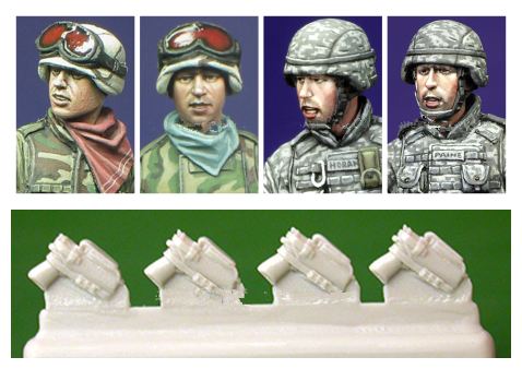 pre order-Resin toys H007 Modern US Infantry Heads Free shipping pre order resin toys l0017 us soldier at rest 2 vietnam free shipping