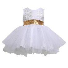 NOËL Enfants Bébé Fille Paillettes Bowknot Robes De Noël Robe De Mariage Parti Robes Robe Filles Enfants Vêtements Robes