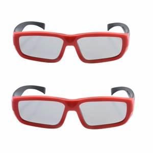 Imax 2 pcs Polarized Children Linear 3D Glasses for Kids 3c87d44cc36a