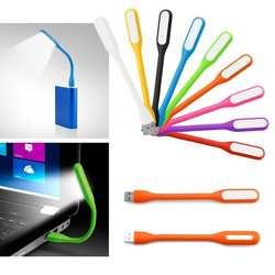YUNLIGHTS Портативный 5 В 1,2 Вт USB светодио дный свет лампы гибкий угол чтение книги свет лампы для Мощность банк компьютер (разные цвета)