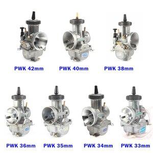 Image 5 - Carburador PWK para motocicleta, carburador de carreras Universal, de 33, 34, 35, 36, 38, 40, 42mm, 2T, 4T, ATV, Quad