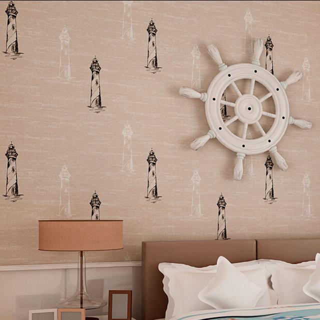 mediterranean cartoon design wallpaper children room wall decor mural wallpapers non woven wall paper for