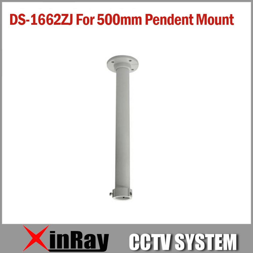 500mm Pendent Mounting Bracket 1662ZJ  for HIK Indoor or Outdoor Speed Dome IP CCTV Camera Aluminum Alloy cctv camera housing aluminum alloy for bullet box camera with bracket for extreme cold or warm outdoor built in heater and fan
