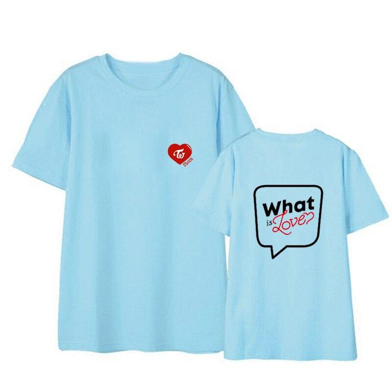 TWICE What is Love concert unisex T shirt short sleeve men T-shirt for summer woman tshirt (5)