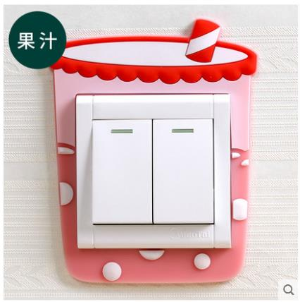 Switch protection cover luminous switch stickers wall stickers switch sets creative lights living room decoration set simple 87 in Wall Stickers from Home Garden