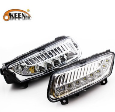Hireno Super-bright LED Daytime Running Light for Volkswagen POLO 2011-13 LED Car DRL fog lamp 2PCS piscine accessoires pool baby swimming pools eco friendly pvc baby inflatable swim accessories water swim float necessaries