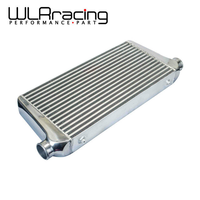 WLRING STORE- 600*300*76mmUniversal Turbo Intercooler bar&plate OD=2.5 Front Mount intercooler WLR-IN816-25 epman universal aluminum water to air turbo intercooler front mount 250 x 220 x 115mm inlet outlet 3 5 ep sl5046d
