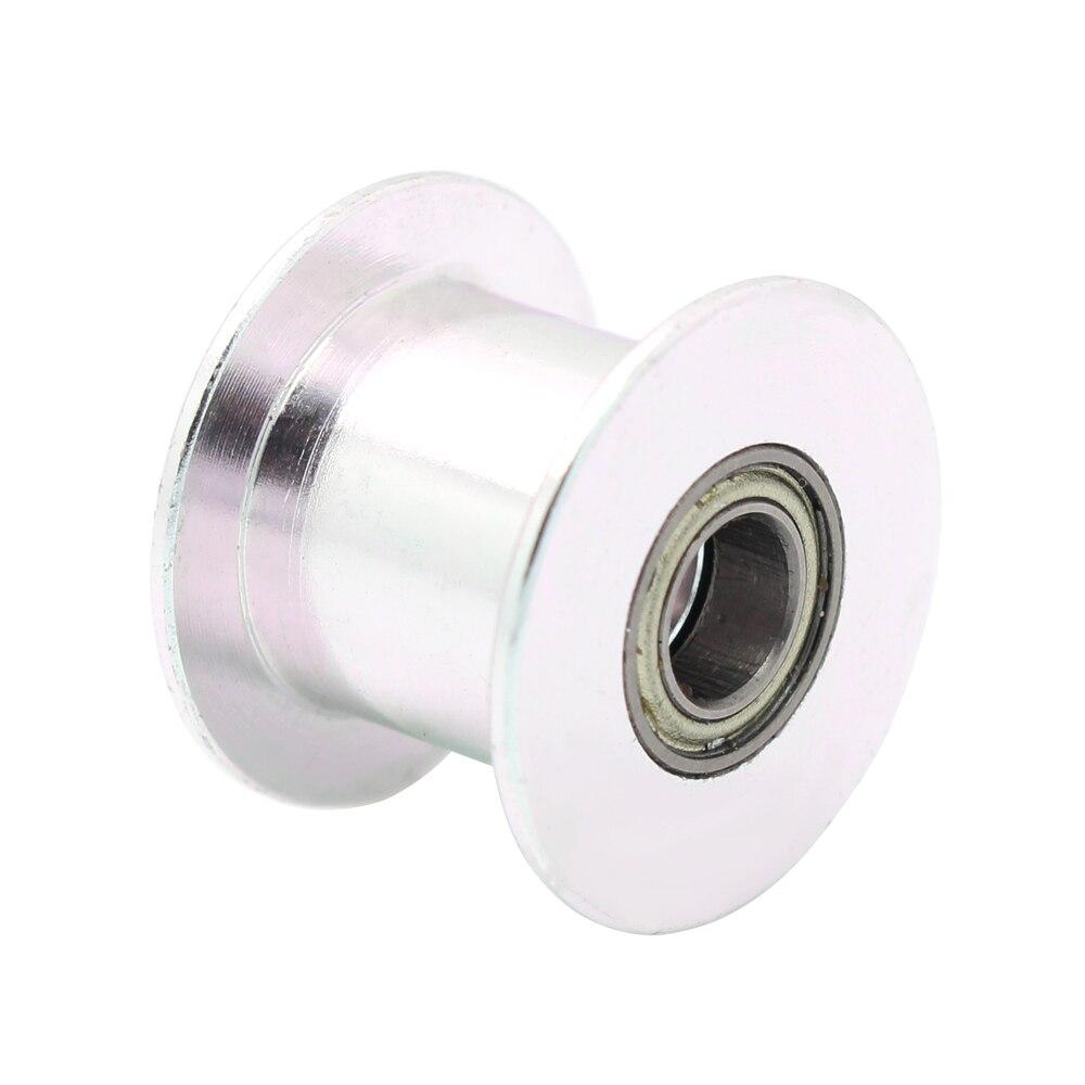 5 stücke 20 zahn Timing Pulley GT2 Idle Getriebe Bohrung 5mm 20 ohne Zahn Zähne Für 2GT Gürtel 3D drucker Teile Breite 10mm Rad Teil