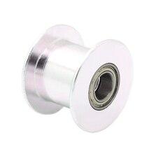 5 шт. 20 зуб шкив GT2 простоя передач диаметр 5 мм 20 без зубов для 2GT ремень 3D принтеры части Ширина 10 мм колеса часть