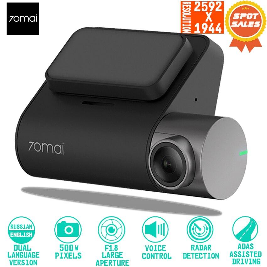 70mai Dash Cam Pro Smart Auto 1944 P HD Video Aufnahme Mit GPS ADAS WIFI Funktion 140 FOV Kamera Englisch voice Control
