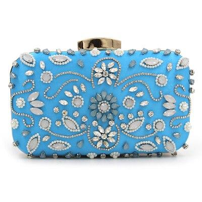 33160c106aa56 Luxe cristal sac de soirée embrayage diamant fête sac à main pochette  soiree femmes soirée sac à main de mariage pochette portefeuilles sac  or/rouge dans ...