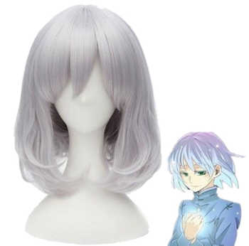Howl's Moving Castle Sophie Hatter 32cm Short Silver Gray Cosplay Hair Wig - DISCOUNT ITEM  16% OFF All Category