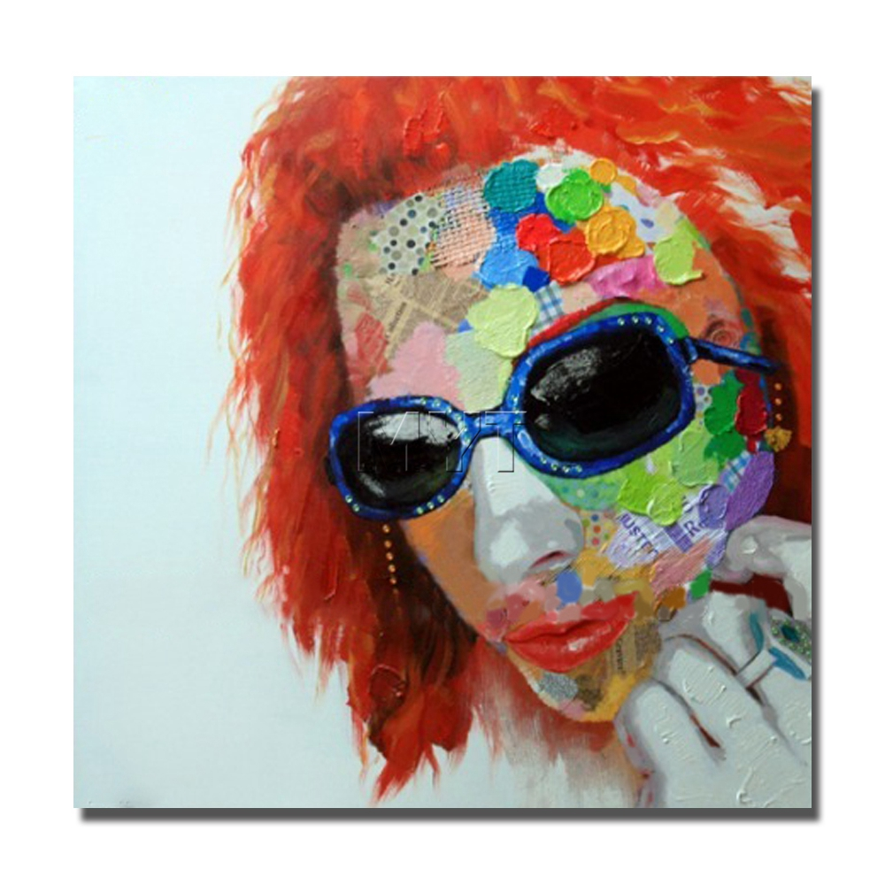 Pop Star Canvas Oil Art Painting Large Size Cheap By Handmade Easy