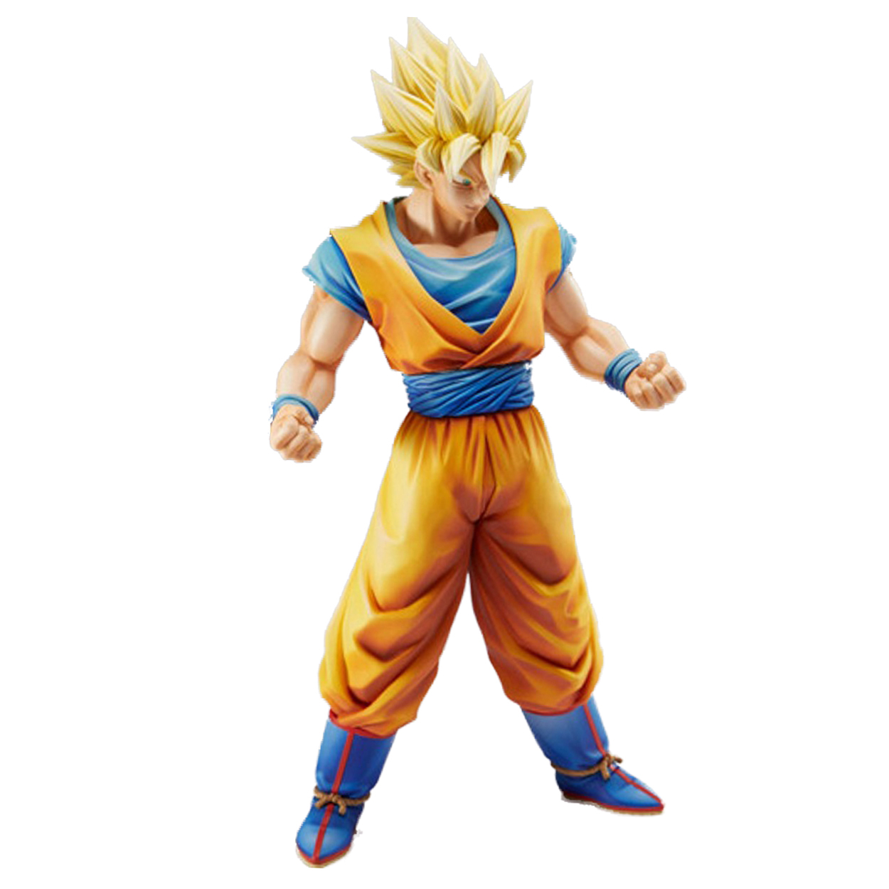 Chanycore 23CM Anime Action Figure Black MSP BIG SIZE Son Goku Dragon Ball Z Figurines Fashion Cool Boy PVC Action Figure anime dragon ball super saiyan 3 son gokou pvc action figure collectible model toy 18cm kt2841