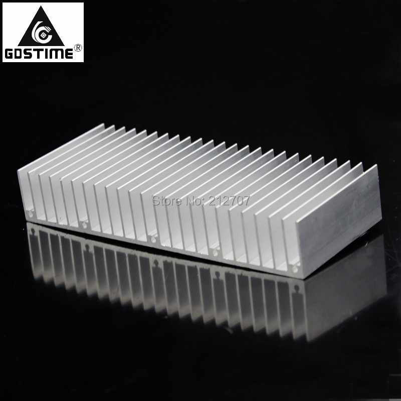 1pcs 70*70*11mm Silver Aluminum Heatsink Heat Sink For IC LED Power Transistor