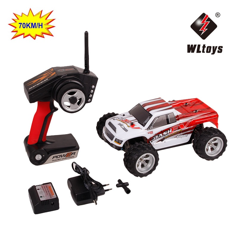 70 km/std Verbesserte WLtoys A979-B A979 4WD 1:18 RC Racing Auto High Speed Monster Lkw Sender Off-Road VS a959-b Sport autos