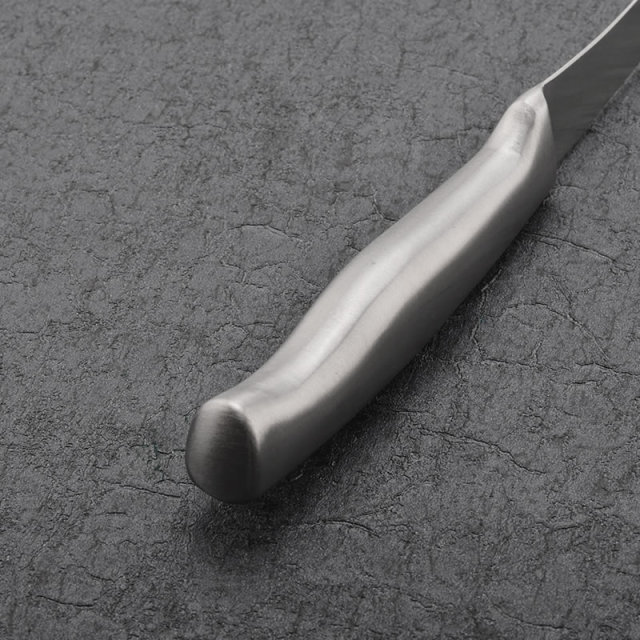 Solid Stainless Steel Knife