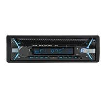 1010 1Din 12 v Xe đa chức năng MP3 player, FM radio, xe máy nghe nhạc, phát lại đĩa U Âm Thanh Xe Hơi Màu Xanh răng MP3 playe