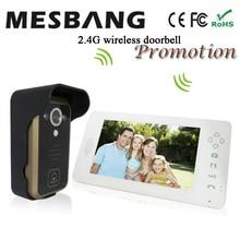 Mesbang villa wireless doorbell with camera intercom video wireless door bell door phone camera free