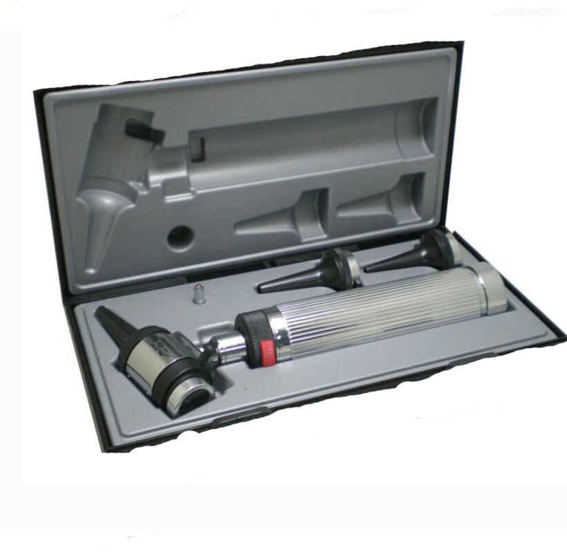 Germany Quality Professional Diagnostic ENT Kit Halogen Light Ear care Medical Portable Fiber Optic Otoscope