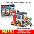 New Lepin 15029 Creator Series The Cool Children Gaming Room Korean R US Building Blocks Bricks Toys Small Oxford BM35213