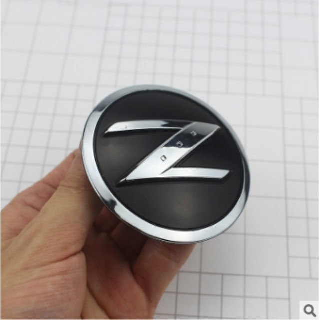 3d Chrome Z Symbol Car Auto Abs Side Fender Emblem Badge Stickers