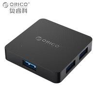 ORICO 슈퍼 고속 4 포트 USB 허브 3.0 휴대용 OTG 허브 USB 스플리터 마이크로 B 전원 포트 애플 맥북 노트북 PC 태블