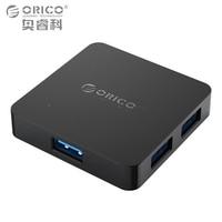 ORICO Super Speed 4 Port USB HUB 3.0 Portable OTG HUB USB Splitter avec Micro B Port D'alimentation pour Apple Macbook Ordinateur Portable PC Tablet