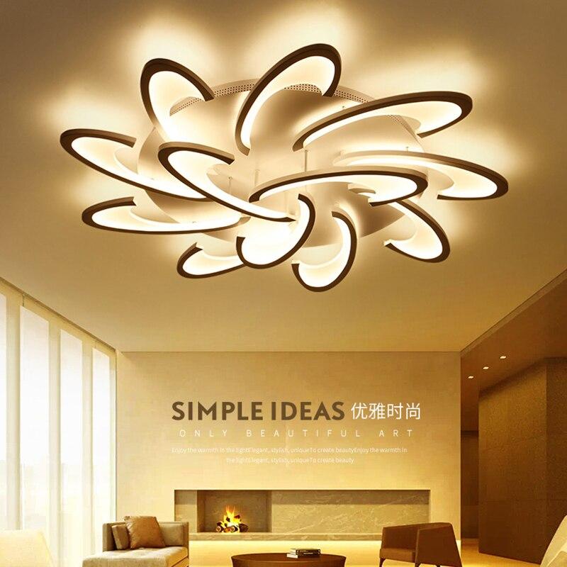 купить Modern LED Ceiling Light For Living Dining Room Bedroom Lustres Led Chandelier Ceiling Lamp lampara de techo Lighting Fixtures по цене 4506.15 рублей