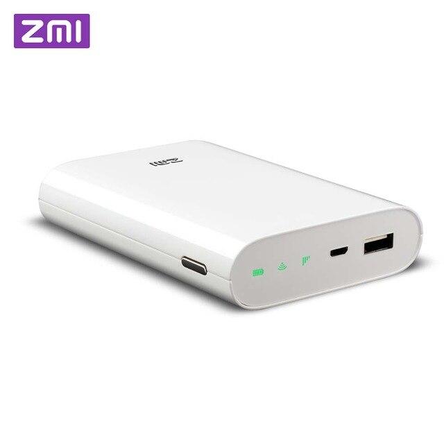 Original ZMI 4G routeur 7800 mAh batterie externe MF855 3G 4G WiFi répéteur WiFi routeur Mobile Hotspot 7800 mAh Powerbank
