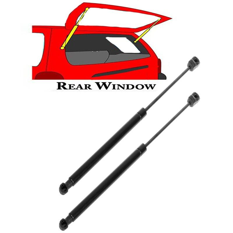 2pcs  For 2003-2009 Kia Sorento Rear Window Glass  Lift Support Struts 6603 SG350001 2pcs for 2005 2013 nissan pathfinder rear window lift supports struts 6607 sg325028