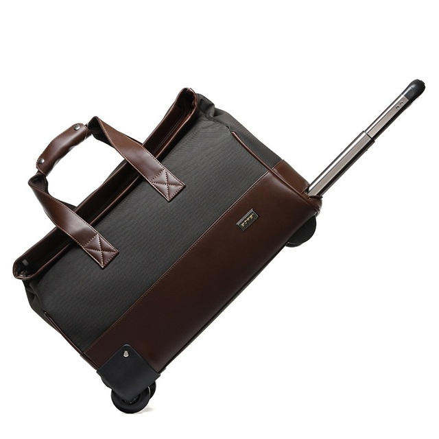 e3d07a00e5d4 20 inch Trolley Travel Bag Hand Luggage Rolling Duffle Bags Waterproof  Oxford Suitcase Wheels Carry On Luggage