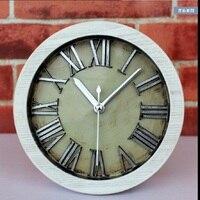 Metallic zilver rome digitale 3d stereoscopische tafel klok al fajr alarm despertador horlogeband klok masa saati quartz plastic enkele