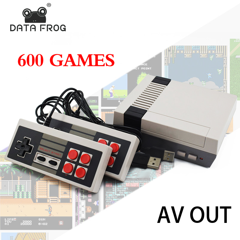 Data Forg Mini TV Game Console 8 Bit Retro Video Game Console Built-In 620 Games Handheld Gaming Player Best Gift цены в Москве 2017