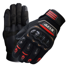 1 Pair Breathable Motorcycle Gloves Men Motocross Gloves Full Finger Riding Motorbike Moto Gloves Offroad Glove Protection L-XXL