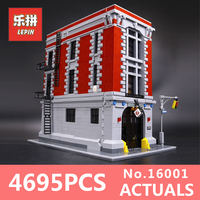 4695Pcs Lepin 16001 City series Firehouse Headquarters house Model Building Blocks Compatible 75827 Architecture Toy to children
