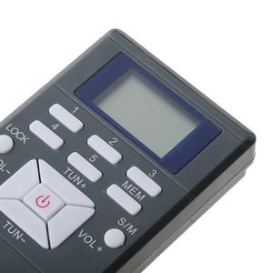 Image 3 - FM כיס רדיו, נייד דיגיטלי רדיו עם 3.5mm שקע אוזניות LCD תצוגת FM תדר טווח 60 108MHz רגישות גבוהה