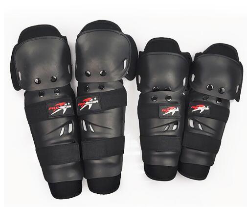 4 PÇS/SET PRO-MOTOCICLISTA Almofadas Motocicleta Joelho Elbow Pads & patinação Motocross Knee Guards MX Knee Pads 2017 Quente venda