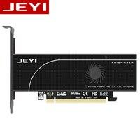 JEYI KNIGHT PCIE3 0 NVME Adapter X16 PCI E Full Speed M 2 2280 Aluminum Sheet