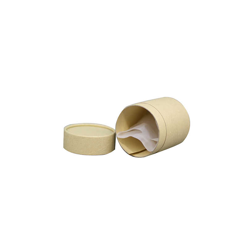 Xin Jia Yi Packaging Natural Kraft Box Paper Gift Box Wedding Favors Candy Box Round Carton Packaging Box for Soap Jewelry