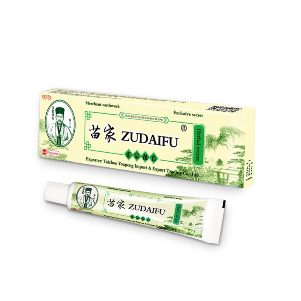 3PCS Zudaifu Skin Care Cream Skin Psoriasis Cream Dermatitis Eczematoid Eczema Ointment Treatment Psoriasis Cream(China)