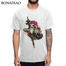 Casual For Male Legend Zelda Breath Of The Wild Barbarian Link Tee Comfortable Cotton Graphic Print T Shirt S-6XL US Size(China)