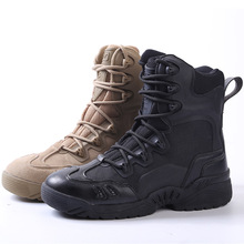 Army Boots Men Brand 39-45 Tactical Boots Outdoor Waterproof Rubber Military Boots Genuine Leather Naturehike Camping Sneakers