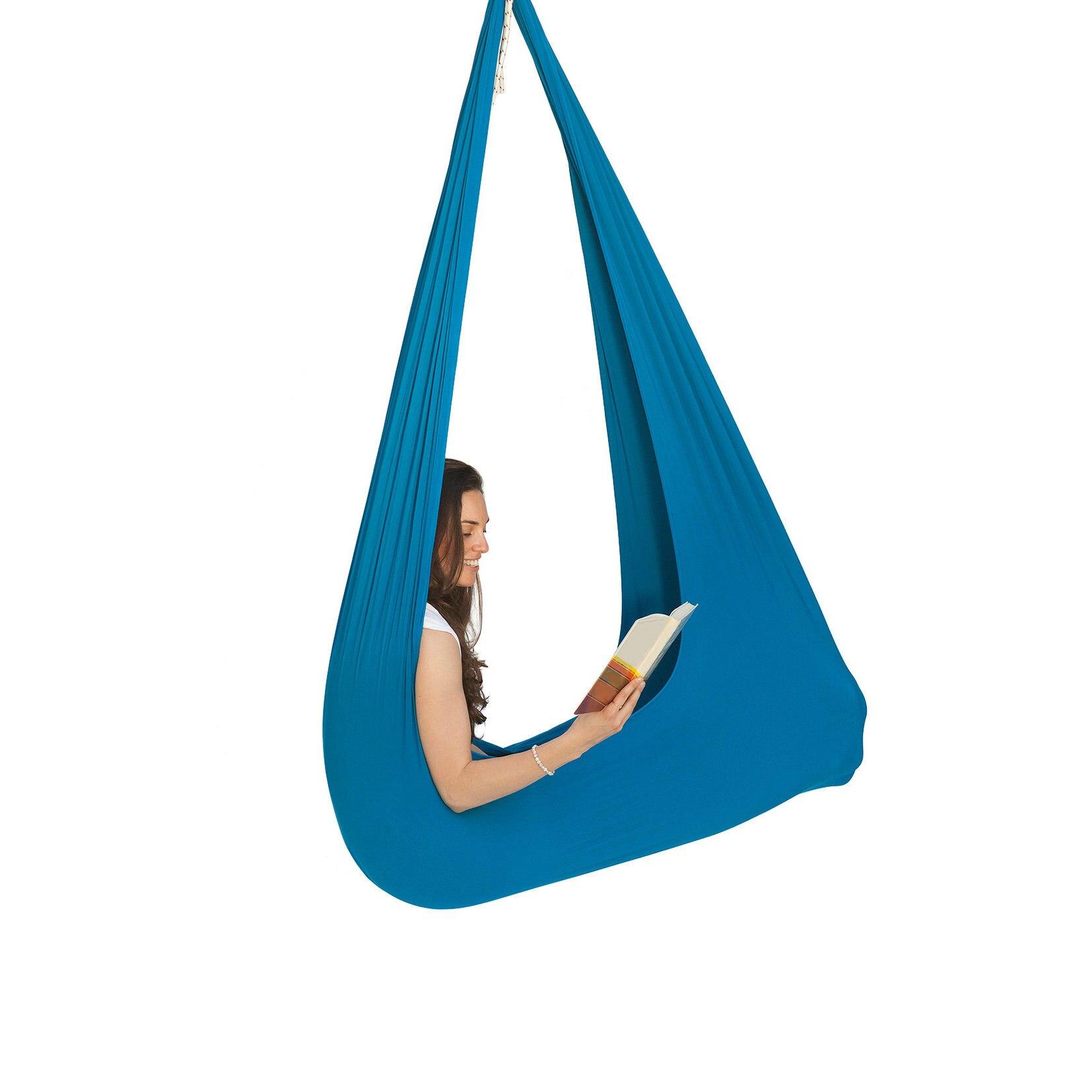 Outdoor Swing Cotton Maximum 30 Kg Elastic Swing Yoga Hammock Indoor Swing for Children Gift Hammock Chair