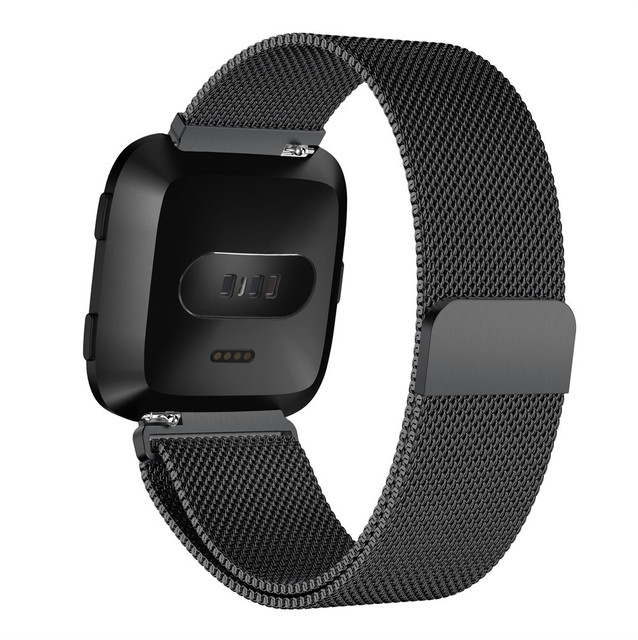 Fitbit Versa Stainless Steel Strap